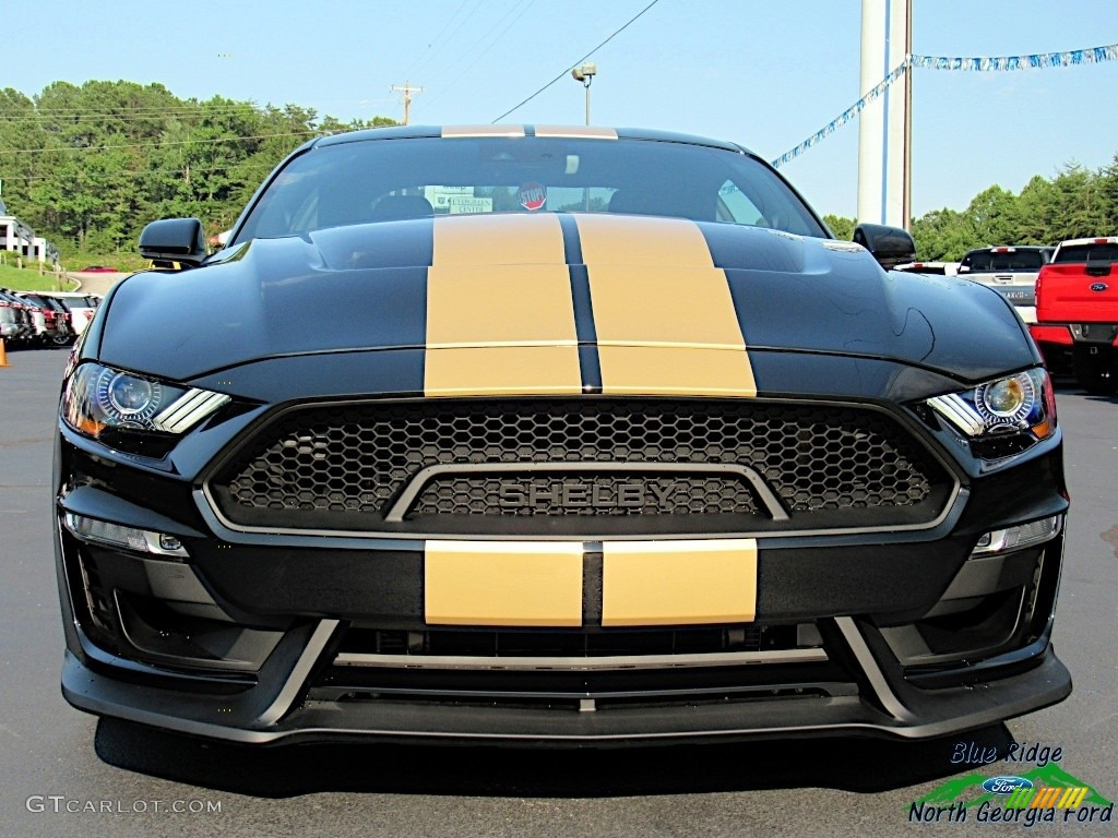 2019 Mustang Shelby GT-H Coupe - Shadow Black / Shelby Two-Tone Black/Gray photo #8