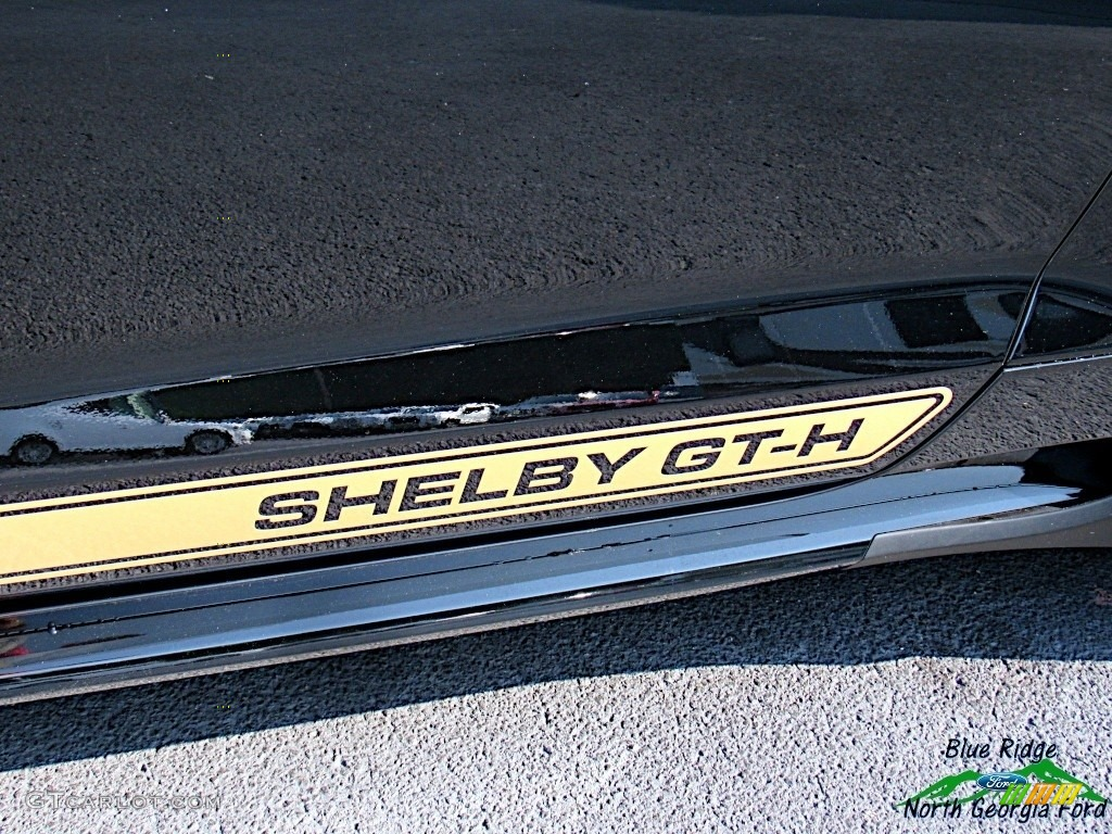 2019 Mustang Shelby GT-H Coupe - Shadow Black / Shelby Two-Tone Black/Gray photo #39