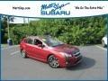 Venetian Red Pearl 2014 Subaru Impreza 2.0i Sport Premium 5 Door