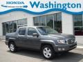 Polished Metal Metallic 2012 Honda Ridgeline RTL