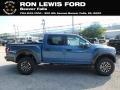 2019 Performance Blue Ford F150 SVT Raptor SuperCrew 4x4  photo #1