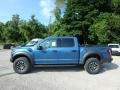 2019 Performance Blue Ford F150 SVT Raptor SuperCrew 4x4  photo #5