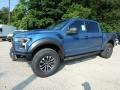 2019 Performance Blue Ford F150 SVT Raptor SuperCrew 4x4  photo #6