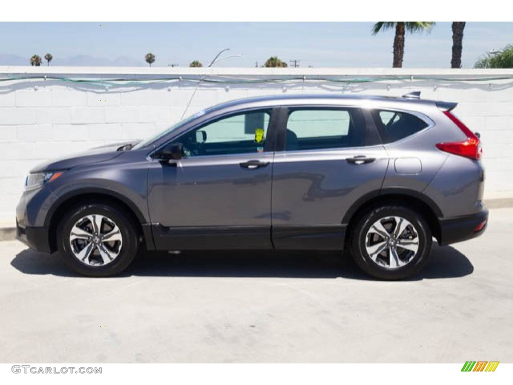 2017 CR-V LX - Modern Steel Metallic / Gray photo #10