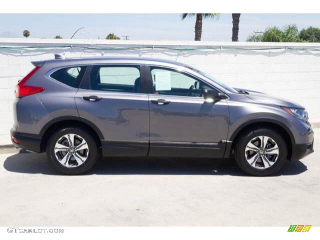 2017 CR-V LX - Modern Steel Metallic / Gray photo #12