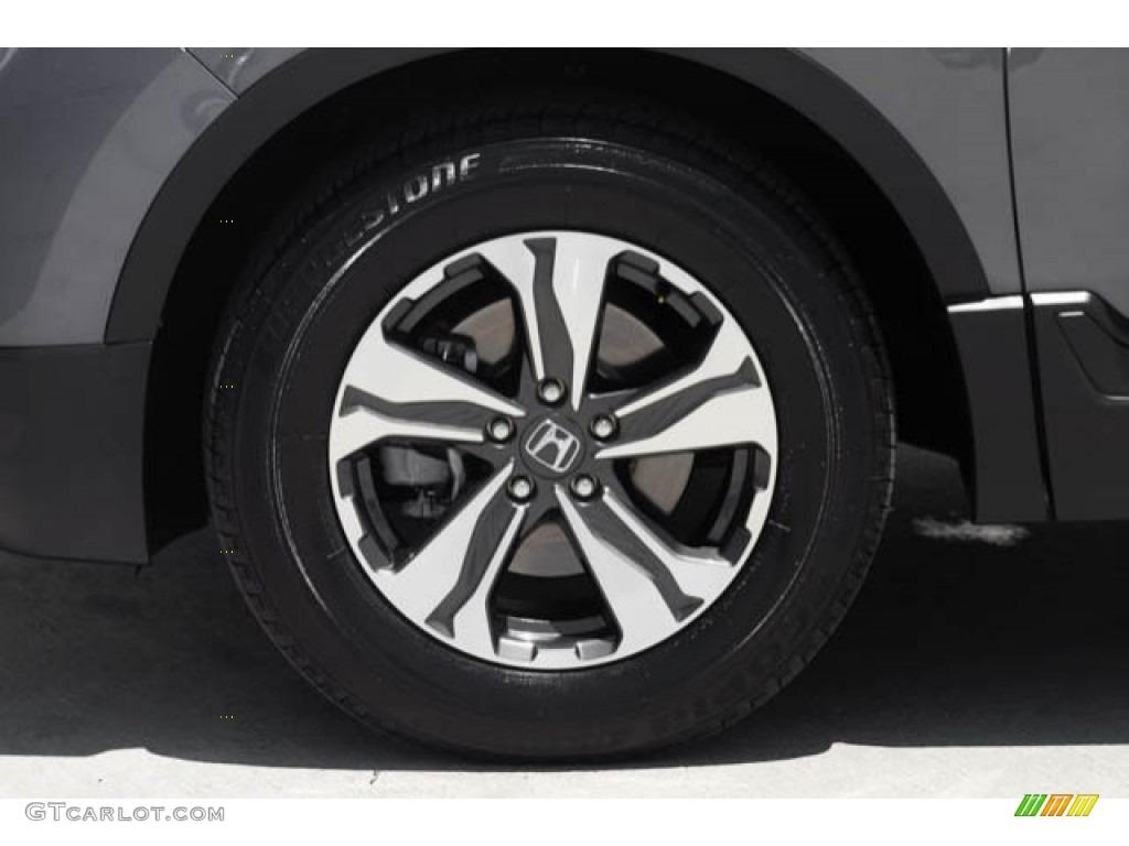 2017 CR-V LX - Modern Steel Metallic / Gray photo #37