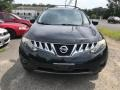 2009 Super Black Nissan Murano SL AWD  photo #2