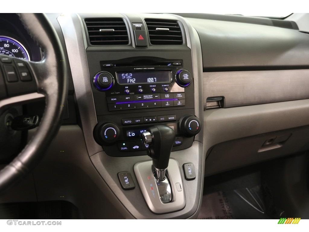 2009 CR-V EX-L 4WD - Taffeta White / Gray photo #9