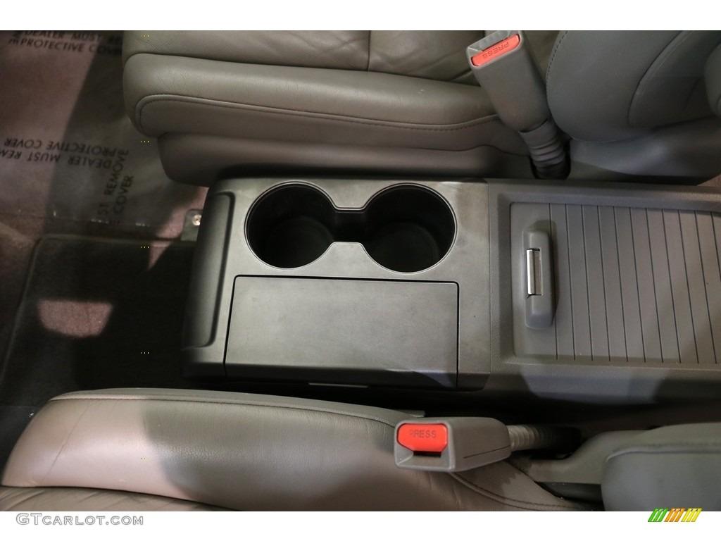 2009 CR-V EX-L 4WD - Taffeta White / Gray photo #11