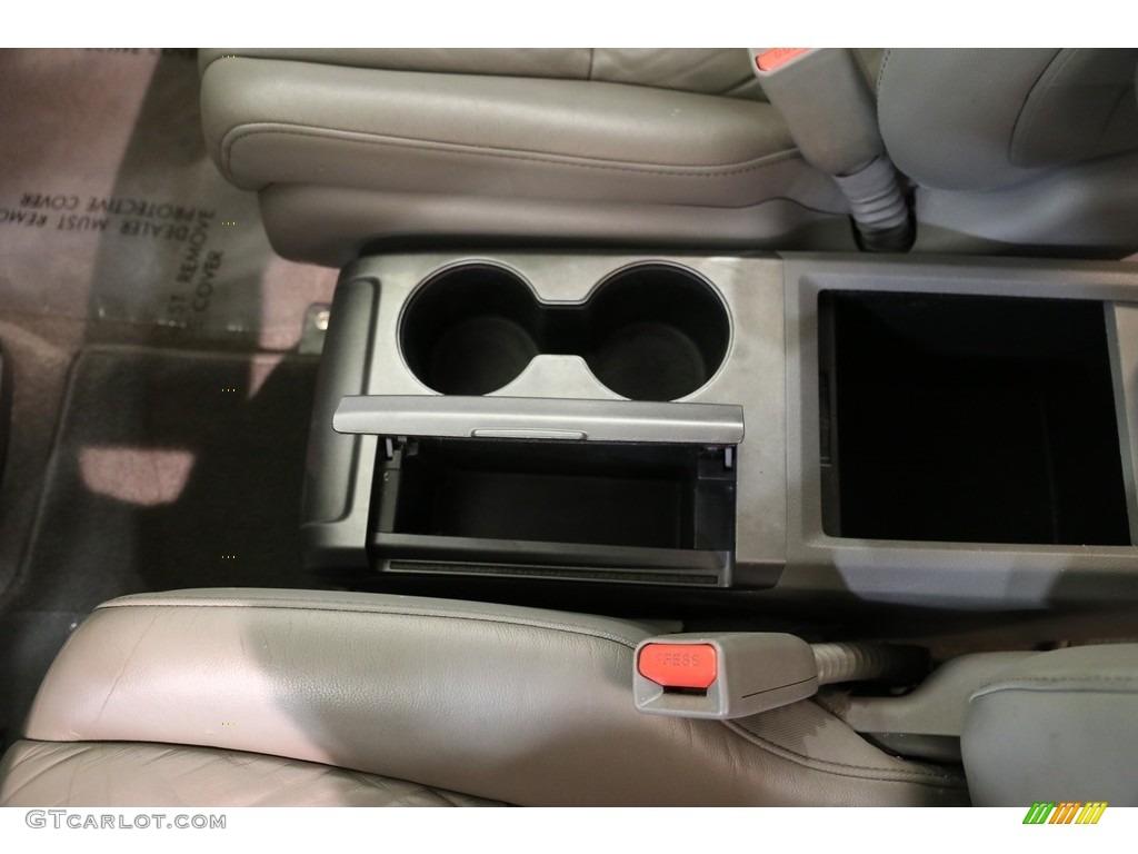 2009 CR-V EX-L 4WD - Taffeta White / Gray photo #12