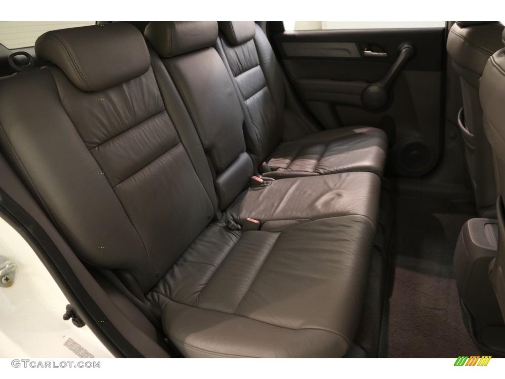 2009 CR-V EX-L 4WD - Taffeta White / Gray photo #14