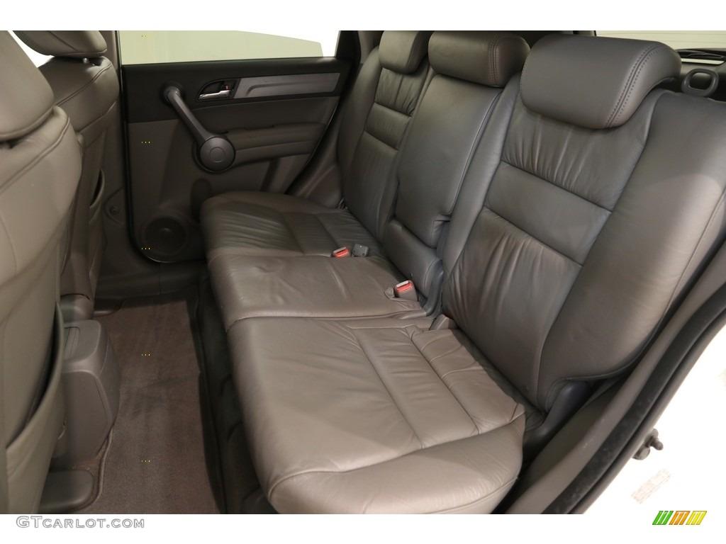 2009 CR-V EX-L 4WD - Taffeta White / Gray photo #15