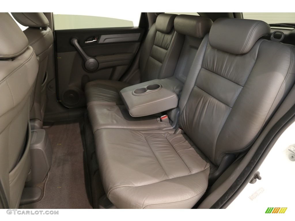 2009 CR-V EX-L 4WD - Taffeta White / Gray photo #16