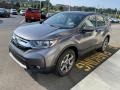 2019 Modern Steel Metallic Honda CR-V EX-L AWD  photo #4