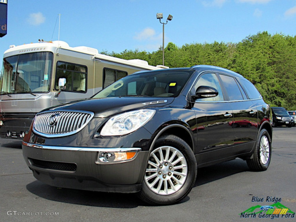 2012 Enclave FWD - Carbon Black Metallic / Cashmere photo #1