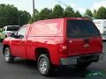 2011 Victory Red Chevrolet Silverado 1500 Regular Cab  photo #3