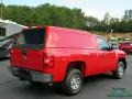 2011 Victory Red Chevrolet Silverado 1500 Regular Cab  photo #6