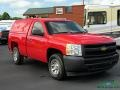 2011 Victory Red Chevrolet Silverado 1500 Regular Cab  photo #8