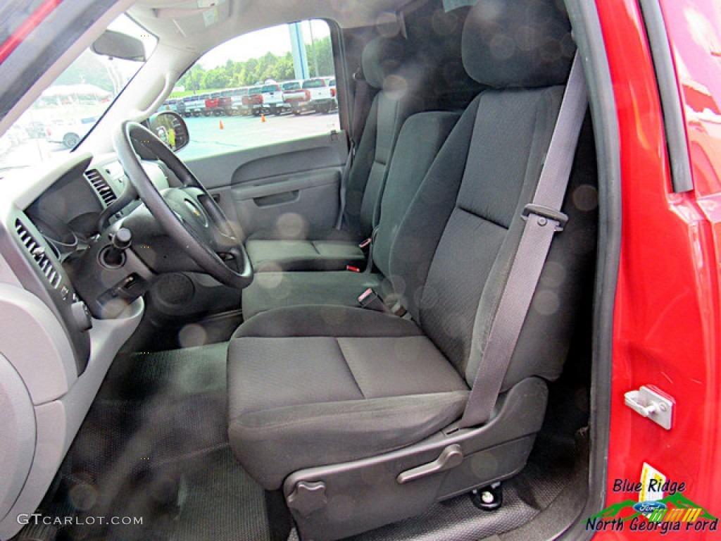 2011 Silverado 1500 Regular Cab - Victory Red / Dark Titanium photo #10