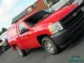 2011 Victory Red Chevrolet Silverado 1500 Regular Cab  photo #22