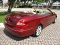 Storm Red Metallic 2007 Mercedes-Benz CLK 350 Cabriolet