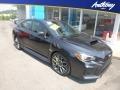 Dark Gray Metallic 2018 Subaru WRX STI