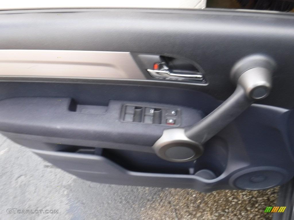 2011 CR-V LX 4WD - Polished Metal Metallic / Black photo #10