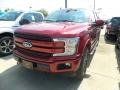 2019 Ruby Red Ford F150 Lariat SuperCrew 4x4 #134602136