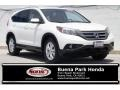 2012 White Diamond Pearl Honda CR-V EX-L  photo #1