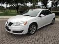 Summit White 2010 Pontiac G6 Sedan