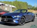 2018 Kona Blue Ford Mustang EcoBoost Convertible #134623065