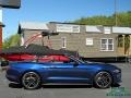 2018 Kona Blue Ford Mustang EcoBoost Convertible  photo #6