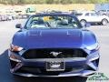 2018 Kona Blue Ford Mustang EcoBoost Convertible  photo #8