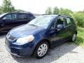 Deep Sea Blue Metallic 2010 Suzuki SX4 Crossover AWD