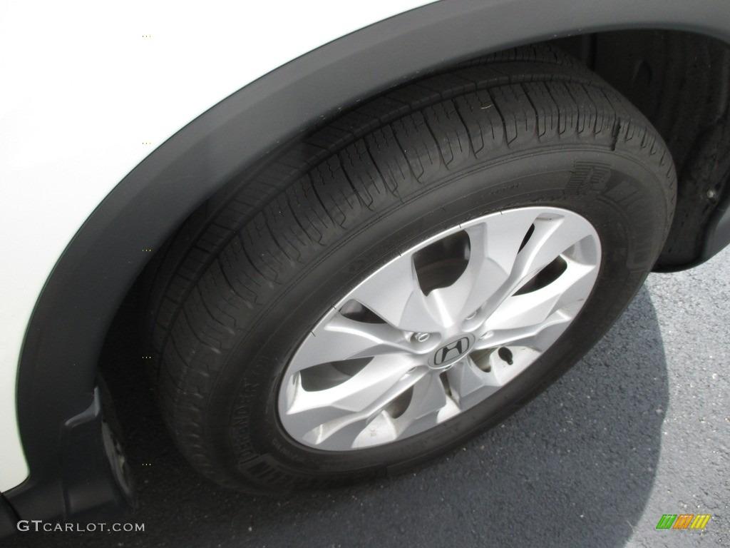 2014 CR-V EX-L AWD - White Diamond Pearl / Black photo #6