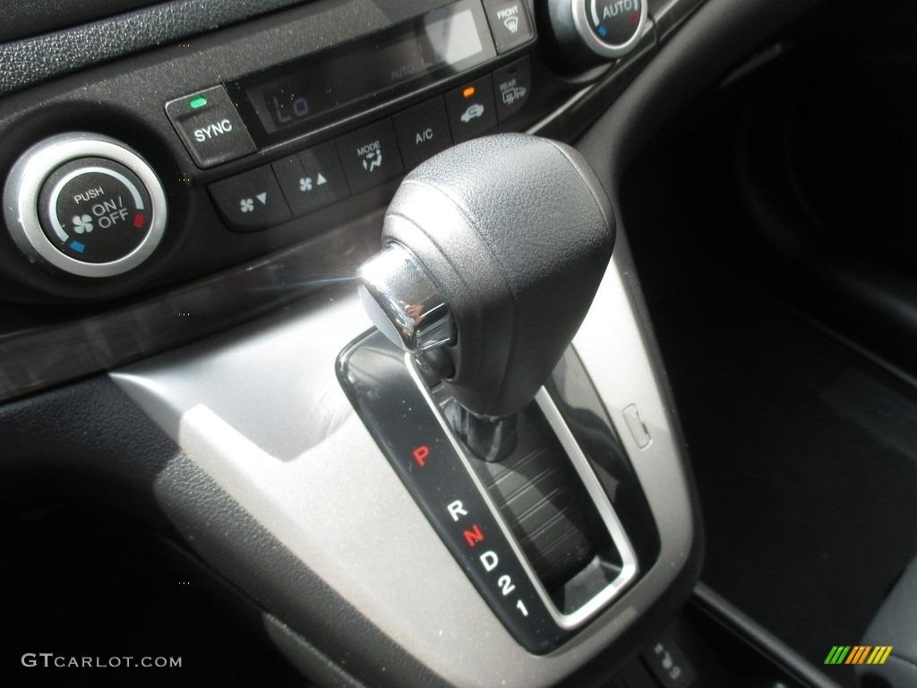 2014 CR-V EX-L AWD - White Diamond Pearl / Black photo #17