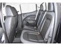 2019 GMC Canyon Jet Black/­Cobalt Red Interior Rear Seat Photo