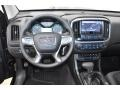 2019 GMC Canyon Jet Black/­Cobalt Red Interior Dashboard Photo