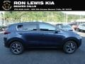 Pacific Blue 2020 Kia Sportage LX AWD