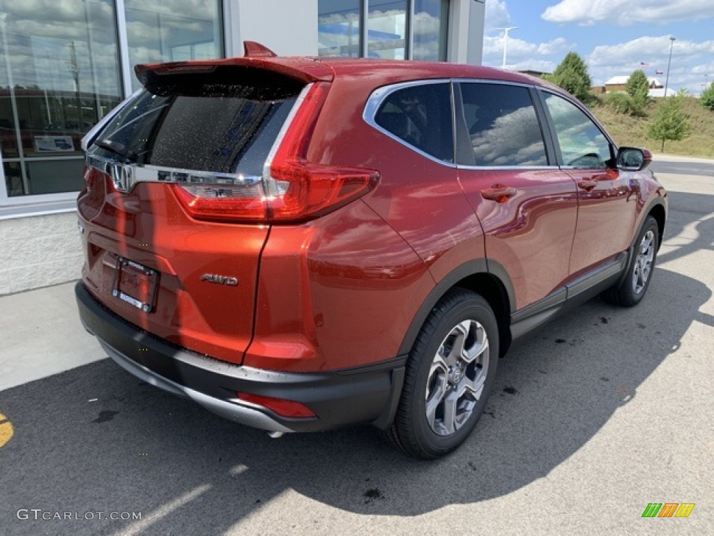 2019 CR-V EX-L - Basque Red Pearl II / Ivory photo #7