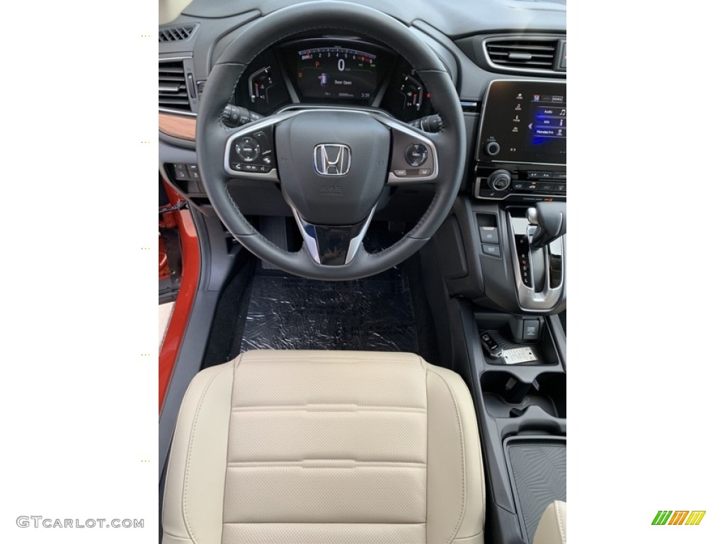 2019 CR-V EX-L - Basque Red Pearl II / Ivory photo #13