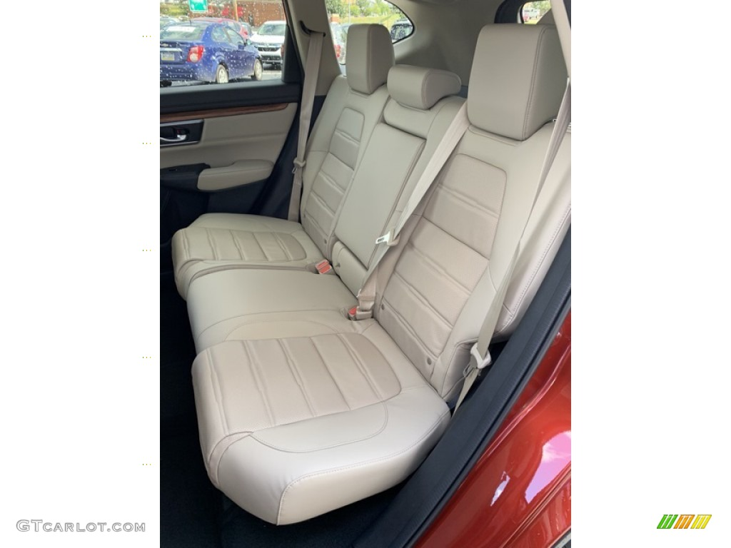 2019 CR-V EX-L - Basque Red Pearl II / Ivory photo #18
