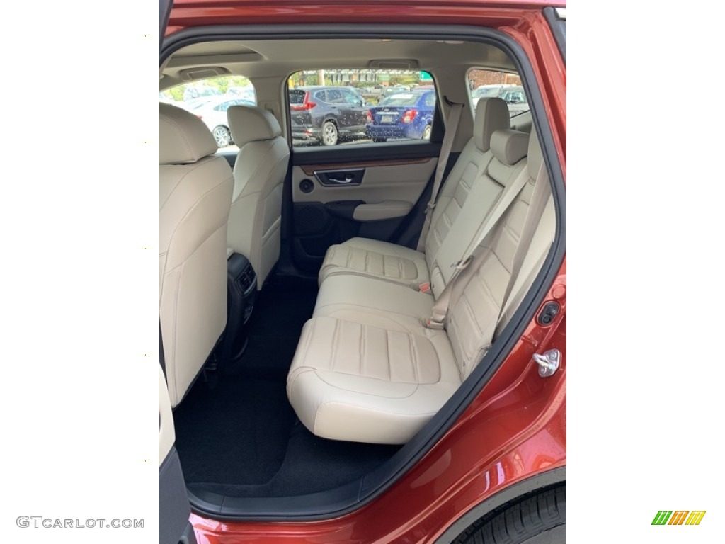 2019 CR-V EX-L - Basque Red Pearl II / Ivory photo #19