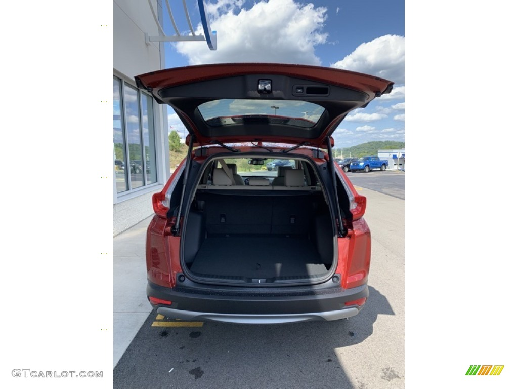 2019 CR-V EX-L - Basque Red Pearl II / Ivory photo #20