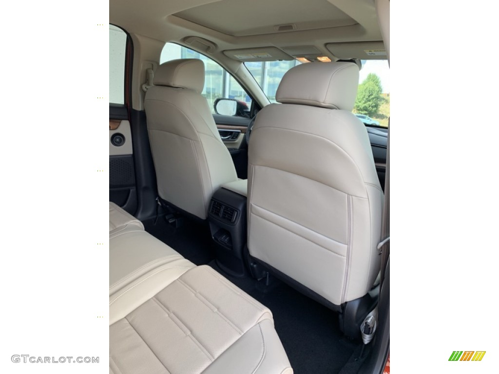 2019 CR-V EX-L - Basque Red Pearl II / Ivory photo #26