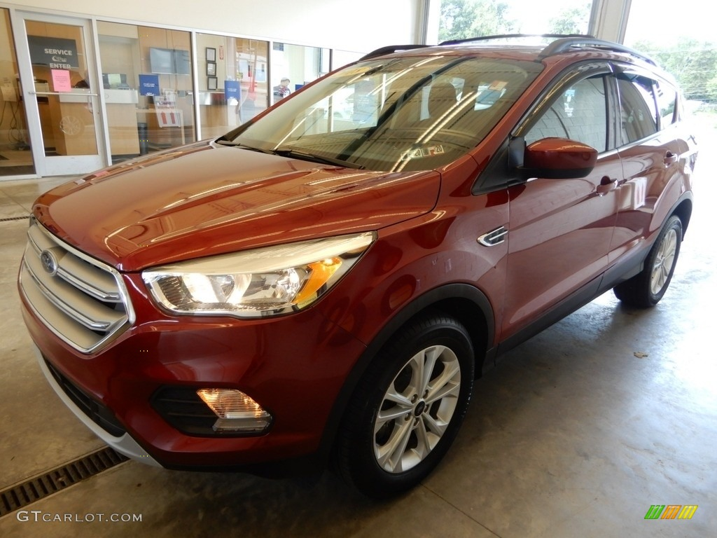2018 Escape SE 4WD - Ruby Red / Charcoal Black photo #10