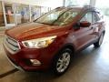 2018 Ruby Red Ford Escape SE 4WD  photo #10