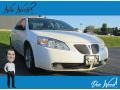 Ivory White 2005 Pontiac G6 GT Sedan
