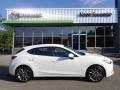 Snowflake White Pearl Mica 2018 Mazda MAZDA3 Touring 5 Door