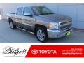 2013 Graystone Metallic Chevrolet Silverado 1500 LT Crew Cab #134690797